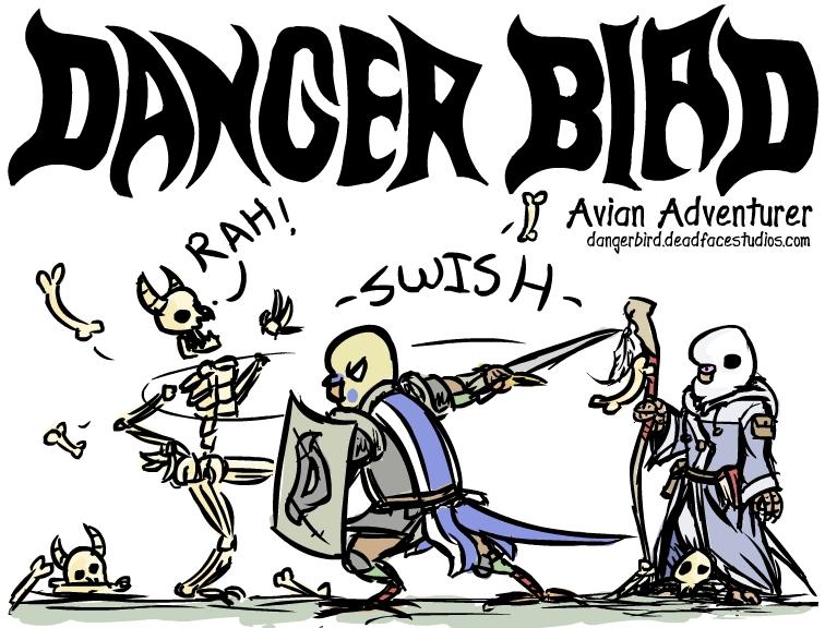leesburg comic con danger bird poster