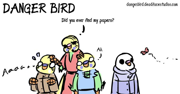 Somebirdies are in trouble~