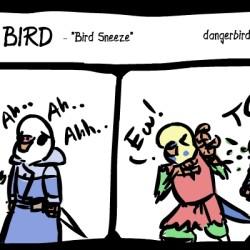 bird sneeze