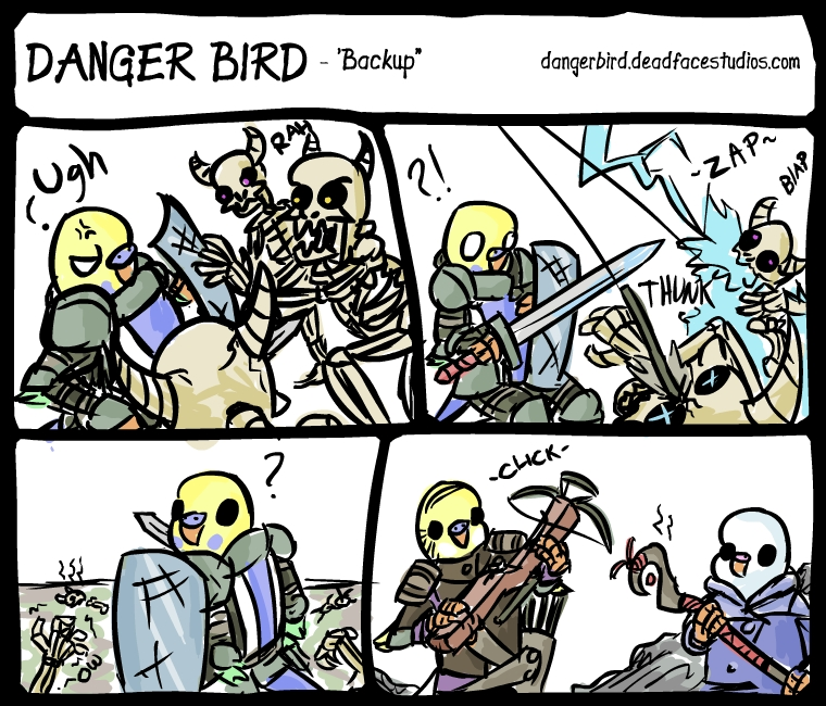 Never mess with a gang of budgies