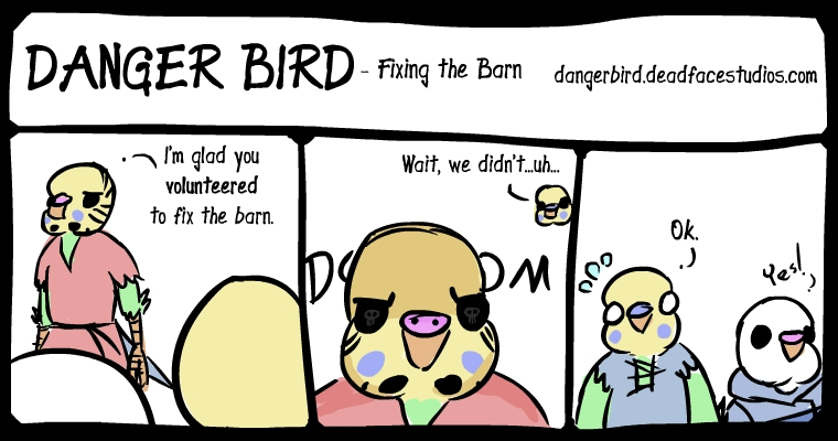 An angry Boss Bird is a scary Boss Bird
