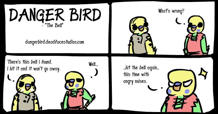 Danger Bird the budgie sage