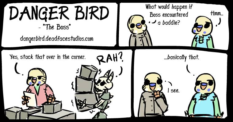 This is why Boss Bird is the boss.
