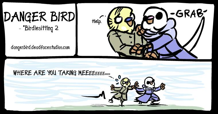 White Bird is a perfectly good birdiesitter. Probably?