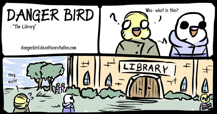 The Library is a Pretty Big Deal™ in this town so it naturally is the biggest building.